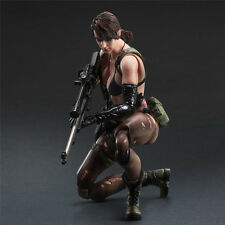 Metal Gear Solid V The Phantom Pain Play Arts Kai Quiet Action Figure Toy Doll Y