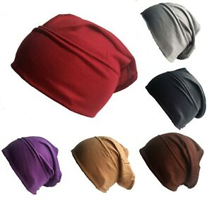 New Pack of 3 Tube Assorted Colour Under Hijab Tube Bonnet Cap Head Cover
