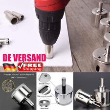 DE 16tlg 6-50mm Lochsäge Set Diamantbohrer Fliesenbohrer Hohlbohrer Kernbohrer