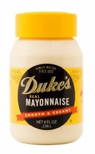 Duke's Real Mayonnaise Smooth & Creamy 8 oz Jar