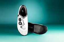 Bont VayPor S 47 12 Men's Cycling Shoes White Carbon Boa Dials Moldable Custom