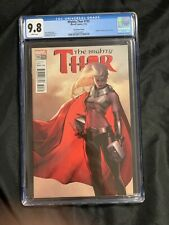 MIGHTY THOR #705 CGC 9.8 NM/MT, 1:50 JeeHyung Lee variant, Marvel Comics 3/2018