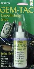 Beacon GEM-TAC Permanent Adhesive Glue 2 Oz. for Rhinestones, Crystals