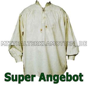 Mittelalter Hemd, VIELE FARBEN, XXXS - XXXXL, Mittelalterhemd Piratenhemd Gewand