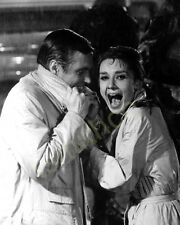 Audrey Hepburn with George Peppard 8x10 Photo 124