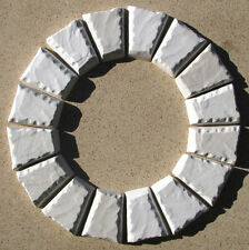 12+1 FREE KEYSTONE MOLDS MAKE 1000s OF CONCRETE COBBLESTONE PAVERS - 6x5x3x1.5""