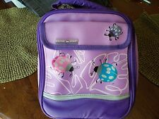 Artic Zone Purple Lady Bug Lunch Bag Insulated EUC