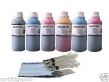 6X10oz Refill ink kit for HP 84 85 cartridge Designjet 130 Printer  syringe