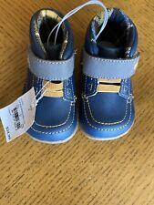 New See Kai Run Basics Gibson Fashion Boot Navy Blue Toddler Boys Size 4