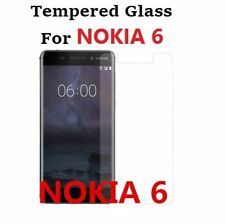 Nokia 6 (2017) Temper Glass Screen Protector Easy Bubble-Free Installation