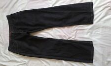 "MENS JEFF BANKS FADED BLACK RELAXED FIT JEANS SIZE 36"" WAIST 30"" LEG"