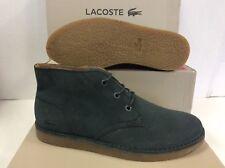 Lacoste Bradshaw Chukka 116 Suede Men's Mid Boots Shoes, Size UK 8 / EU 42