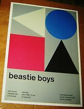 Beastie Boys Rock Concert Poster Swiss Punk Graphic Arts Rap Hip Hop 10X14 Joyce