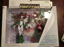 Ame-Comi Holiday Posion Ivy & Harley Quinn PVC Figure Set Heroine Series