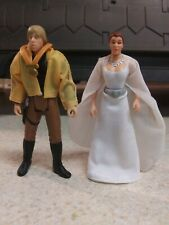 Star Wars Luke And Leia Yavin Ceremony Kenner 1997 3.75 Action Figures