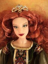 "Deirdre of Ulster Barbie Doll Platinum Label Legends of Ireland Irish Celtic """