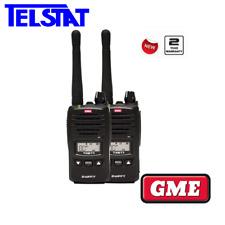 GME TX677 TP 2 Watt Twin pack UHF CB Handheld radio 80 Channel (Replaces TX675)