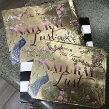 AUTHENTIC Too Faced Natural Lust Naturally Sexy Eyeshadow Palette  NEW IN BOX
