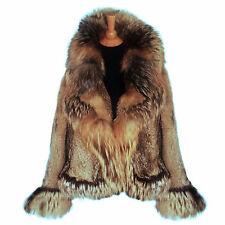 Rare Luxurious Alexander McQueen  Coyote & Fox Fur Coat