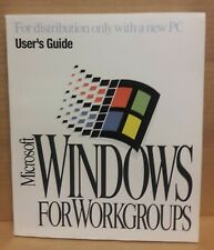Microsoft Windows For Workgroups User's Guide