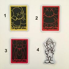 KAWS - ORIGINAL FAKE  Skateboard Stickers  ** PRICE FOR ONE STICKER TO CHOOSE **