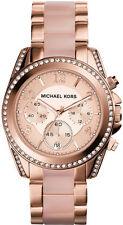 Michael Kors Blair Rose Gold Chronograph Ladies Watch - MK5943