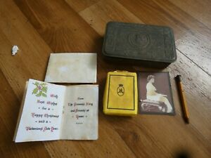 Queen Mary Tin Original WW1 with some contents