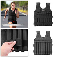 20/50kg Max Loading Adjustable Weighted Vest Fitness Training Exercise Waistcoat