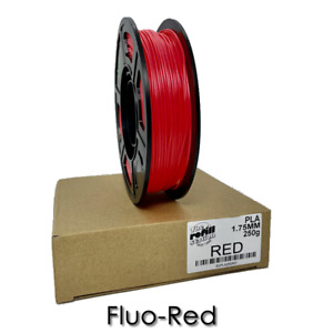 3D Printer Filament PLA 250 grams, 1.75mm Roll, 13 DIFFERENT COLORS TO CHOOSE