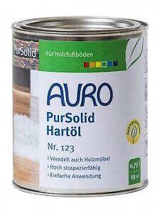 AURO PurSolid Hartöl Nr. 123 - 0,75 L