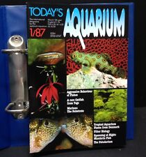 "[49630] 1987/88 ""TODAY'S AQUARIUM"" MAGAZINES - 8 QUARTERLY ISSUES & BINDER"
