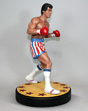 ROCKY 1/4 RESIN STATUE HOLLYWOOD COLLECTIBLES Polystone Sylvester Stallone 45 CM