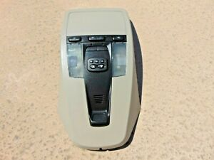 2004-06 Volvo S40 V50 Overhead Dome Map Light w/ Sunroof Switch Beige Read ALL