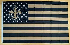 New Orleans Saints 3x5 ft Flag NFL