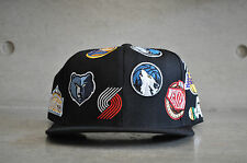 Mitchell & Ness nba western division all over noir casquette réglable