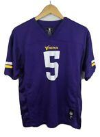 NFL Team Apparel Youth Teddy Bridgewater Minnesota Vikings NFL Jersey SZ XL