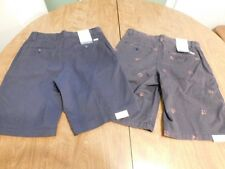 IZOD Men's Saltwater Shorts, Lot of 2, Size 30 w/10.5 Inseam, NWT, FREE S&H