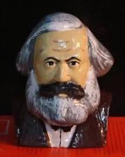 KARL MARX BUST 3 -- Resin Statue Russian Figure Communist Soviet Sculpture USSR