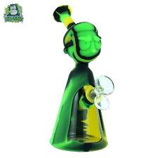 "6.5/"" Silicone Hookah Smoking Bong Unbreakable Detachable Water Bubbler Shisha"