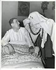 WILLIAM BENDIX HALLOWEEN GHOST THE LIFE OF RILEY ORIGINAL 1953 NBC TV PHOTO