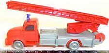POMPIER GRANDE ECHELLE MAGIRUS 3500 Rouge Argent IMU modèle européen 1:87 H0 Å