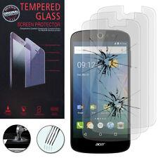 3x Vitres Protection Films Verre Trempe Protecteur Pour Acer Liquid Z530/ Z530S