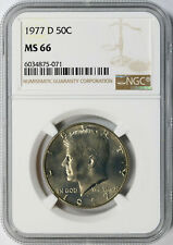1977-D 50c Kennedy Half Dollar NGC MS66