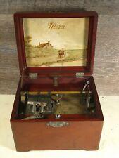 Antique Mermod Freres Mira 7 Inch Music Box Works