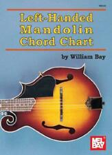 Left-Handed Mandolin Chord Chart by William Bay | Paperback Book | 9780786683253
