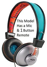 House Of Marley Positive Vibration Sun On-Ear Headphones 1 Button Remote & Mic C