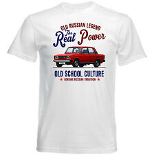 VINTAGE RUSSIAN CAR LADA RIVA - NEW COTTON T-SHIRT