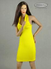 1/6 Phicen, TBLeague, Hot Toys, Vogue Clothing - Female Yellow Neck Strap Dress