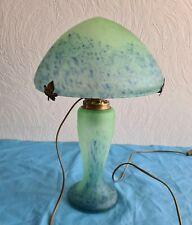 Superbe Lampe en pâte de verre champignon en parfait état année 70