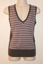 THE LIMITED ~ Gray & Lilac Cotton Knited Vest Sz XS *EXCELLENT +++ COND.
